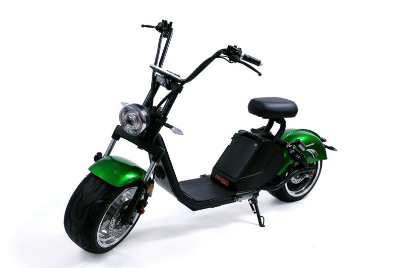Nitro scooters Classic 3500 Plus - zelená metal. (2020)