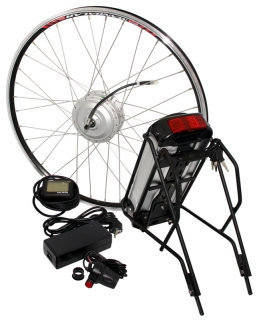 "Elektrosada Spirit 26"", LCD, 250W, 36V/13Ah, rear battery"
