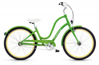 Electra Townie Original 3i EQ Ladies Leaf Green