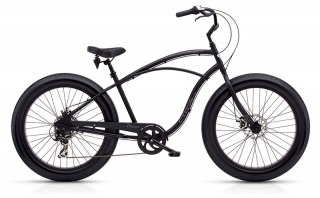 Electra Cruiser Lux Fat Tire 7D Mens Matte Black