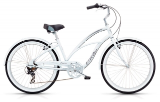 Electra Cruiser Lux 7D Ladies White