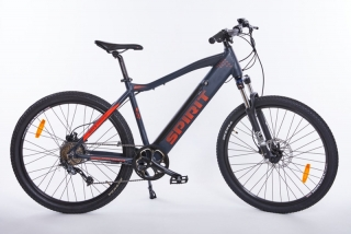 Elektrokolo MTB II 27,5 black/red, integr. bat. 17 Ah (2019)